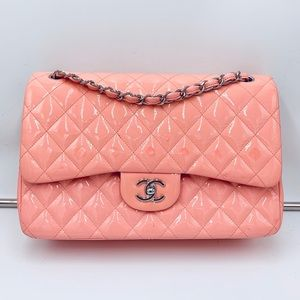 CHANEL 💗jumbo pink flap bag💗